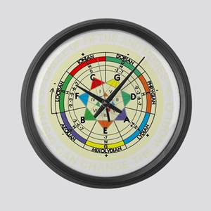cp-modes-8-b Large Wall Clock
