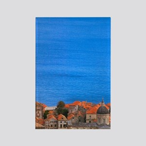 Cityscape fo Dubrovnik by Adriati Rectangle Magnet
