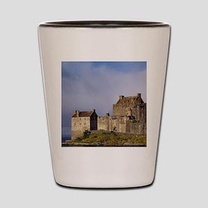 Eilean Donan Castle. Afternoon light fl Shot Glass