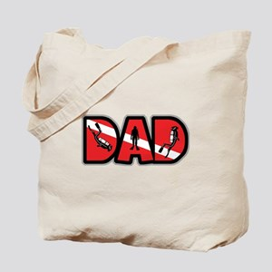 SCUBA Dad Tote Bag