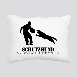 schutzzz2 Rectangular Canvas Pillow