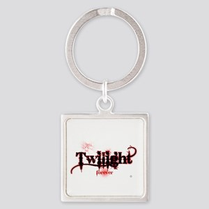 twilight forever for black by twib Square Keychain