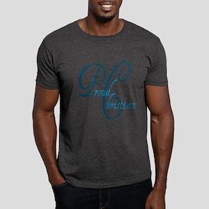 Proud Christian - Teal Dark T-Shirt