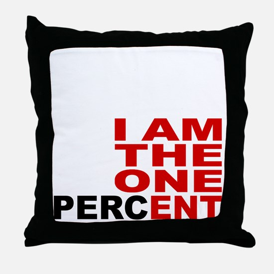 onepercent Throw Pillow