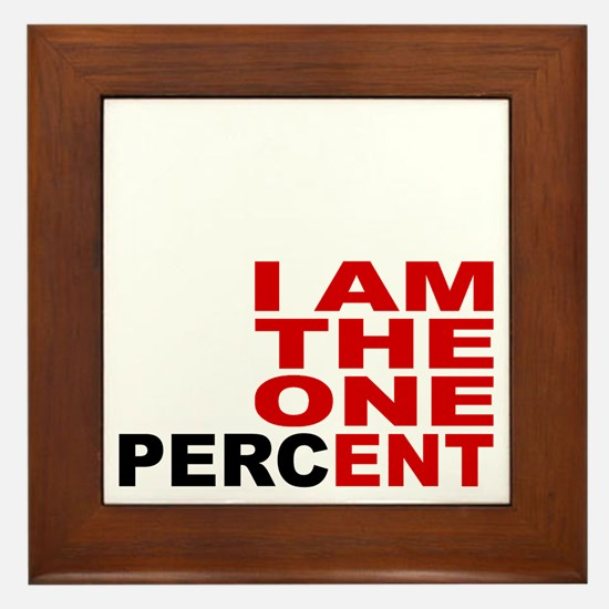 onepercent Framed Tile