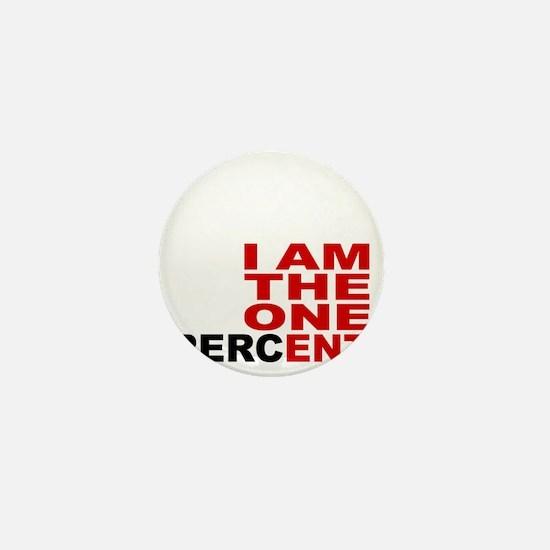 onepercent Mini Button