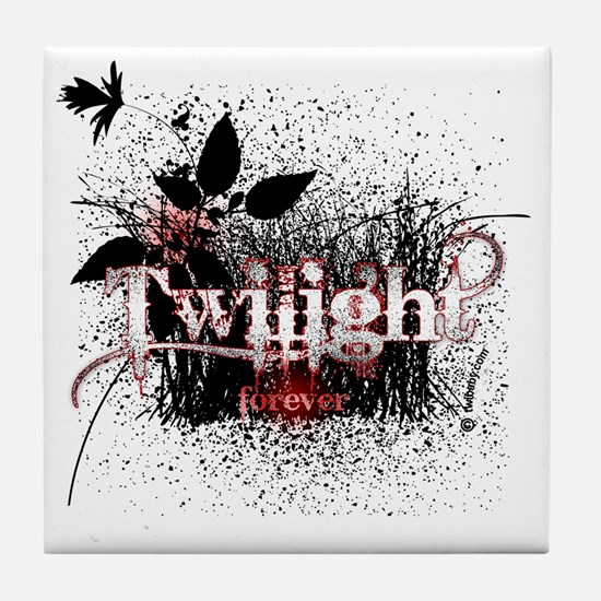 twilight forever by twibaby copy Tile Coaster