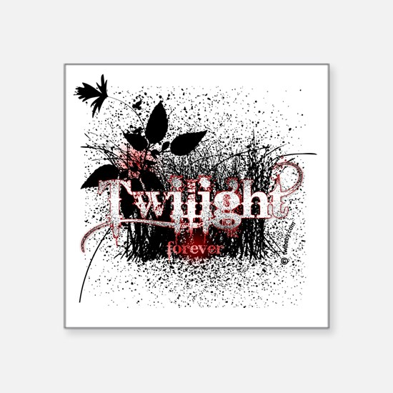 "twilight forever by twibaby Square Sticker 3"" x 3"""