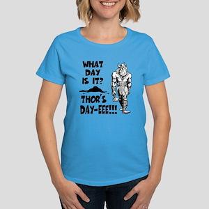 Thor's Day-eee!!! Women's Dark T-Shirt