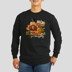 thanksgiving copy Long Sleeve Dark T-Shirt