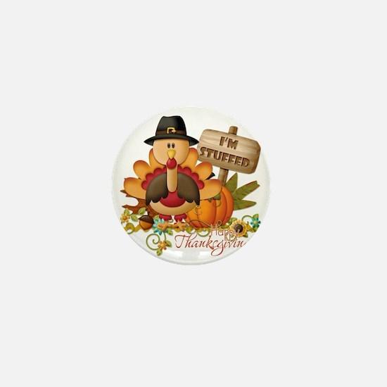 thanksgiving copy Mini Button