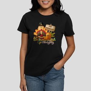 thanksgiving copy Women's Dark T-Shirt