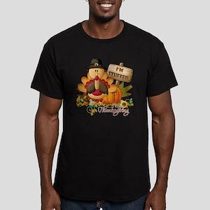 thanksgiving copy Men's Fitted T-Shirt (dark)