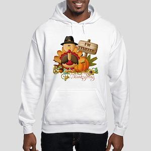 thanksgiving copy Hooded Sweatshirt