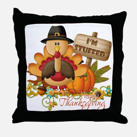 thanksgiving copy Throw Pillow