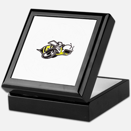 Super Bee White PNG Keepsake Box