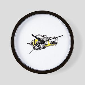 Super Bee White  Wall Clock