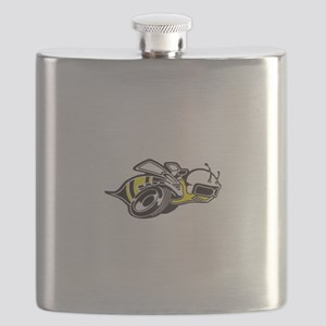 Super Bee White  Flask