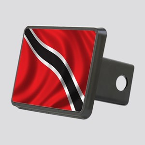 trinidad_flag Rectangular Hitch Cover