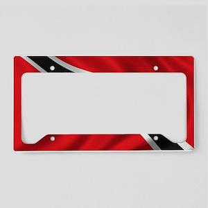 trinidad_flag License Plate Holder