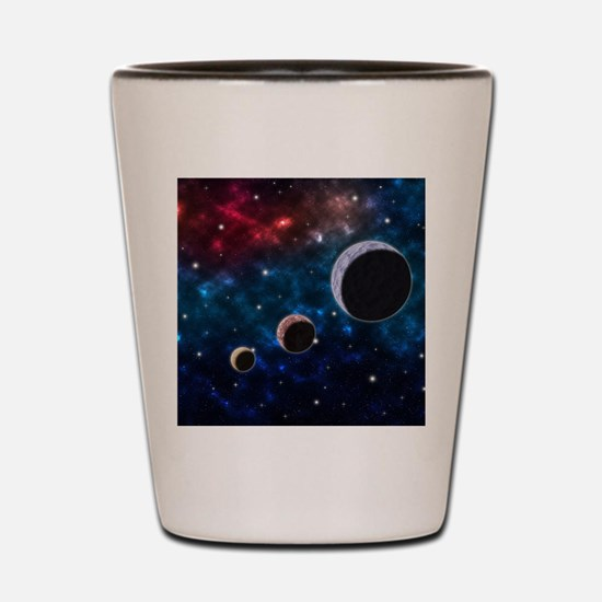 Cute Astronomy elements Shot Glass