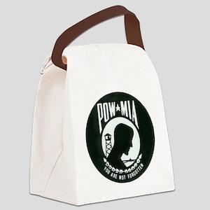 pow-mia Canvas Lunch Bag