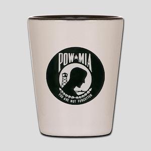pow-mia Shot Glass