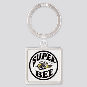 Super Bee  Square Keychain