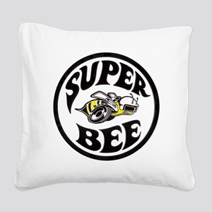 Super Bee  Square Canvas Pillow