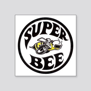 "Super Bee  Square Sticker 3"" x 3"""
