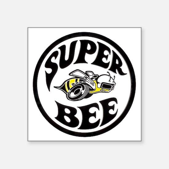 "Super Bee PNG Square Sticker 3"" x 3"""
