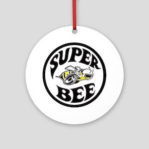 Super Bee  Round Ornament