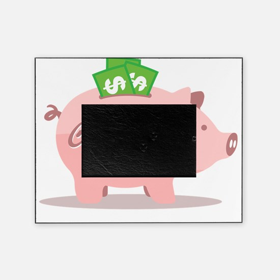 capitalist_pig_pk Picture Frame