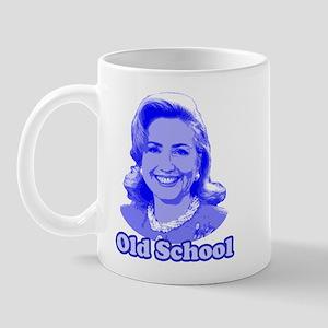 Old School Hillary Mug