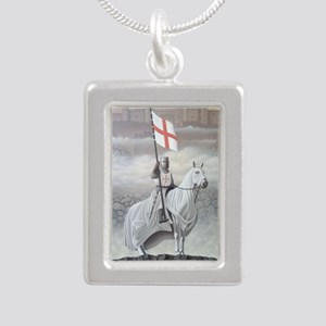 knights_templarHORSE Silver Portrait Necklace