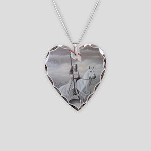 knights_templarHORSE Necklace Heart Charm
