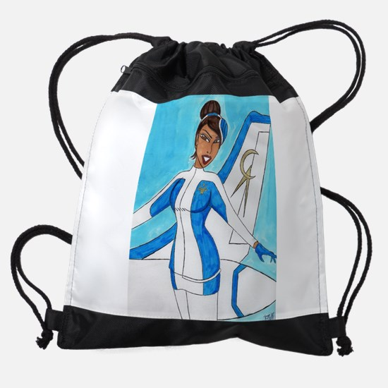 Come Fly With Us Drawstring Bag