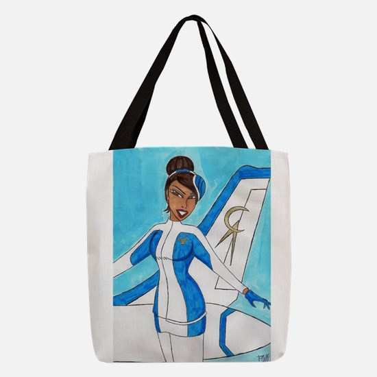 Come Fly With Us Polyester Tote Bag