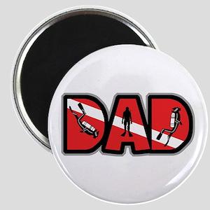 SCUBA Dad Magnet