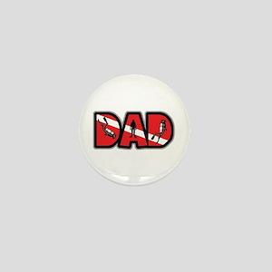 SCUBA Dad Mini Button