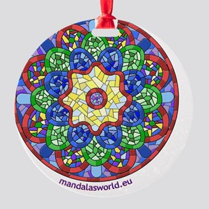 iPhone Modernism Guell 1 Round Ornament