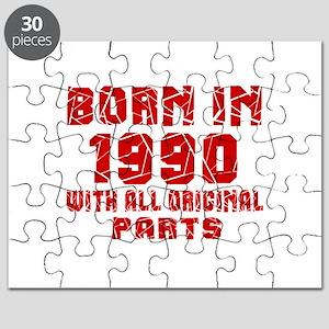 Born In 1990 With All Original Parts Puzzle