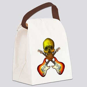 fenderskull1 Canvas Lunch Bag