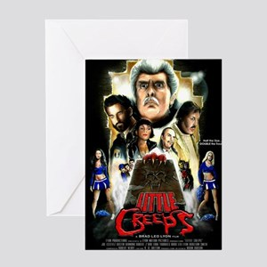 Little Creeps Poster Greeting Card