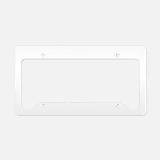 peacebw License Plate Holder