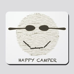 happy camper drk Mousepad