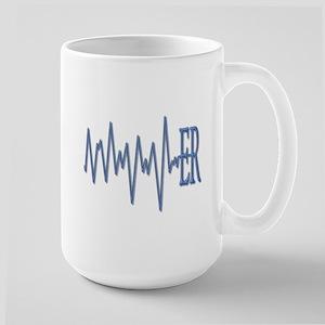 ER EKG Large Mug
