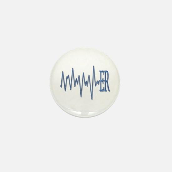 ER EKG Mini Button