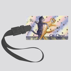cats 1 cov ballroom cats Large Luggage Tag