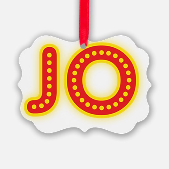JO-in-lights Ornament